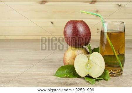 fresh apple juice, cool summer refreshment, diet drink