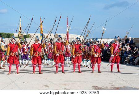 In Guarda Parade