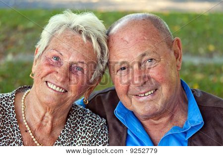 Mature Couple In Love Senior Portraits.