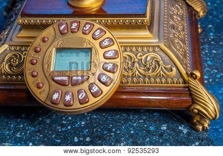 Phone, Retro, Closeup