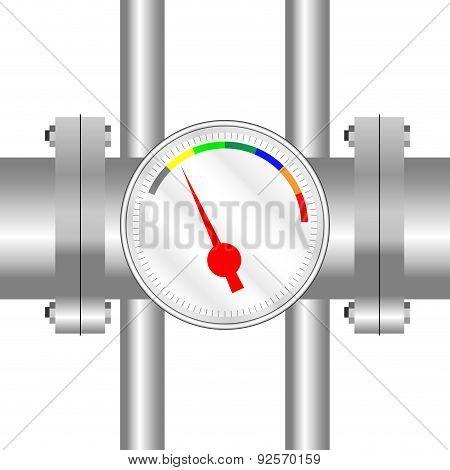 Spectral Sensor On The Tube
