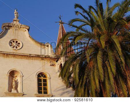 Church in Milna in the Mediterranean