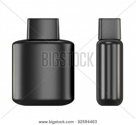Black Bottle With Aftershave