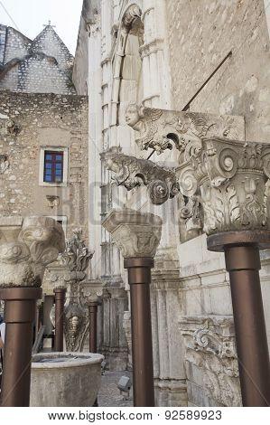 Convento Do Carmo In Lisbon