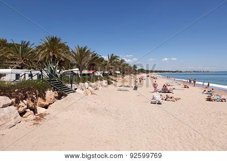 Mediterranean Beach in Spain