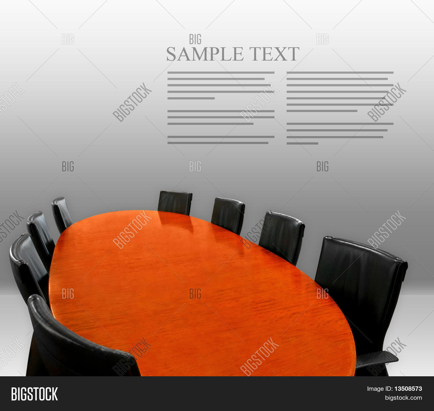 Meeting Table Layout Image Photo Free Trial Bigstock - Conference table layout