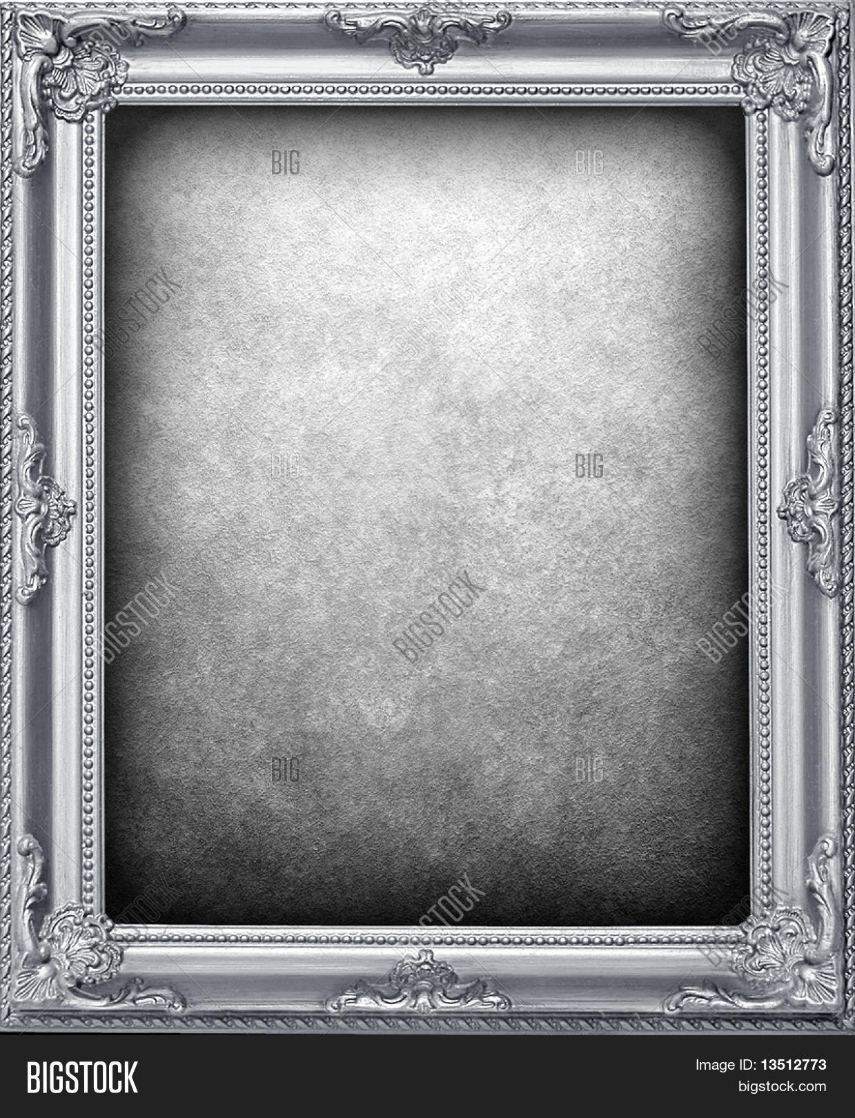 Silver Frame Image & Photo (Free Trial) | Bigstock