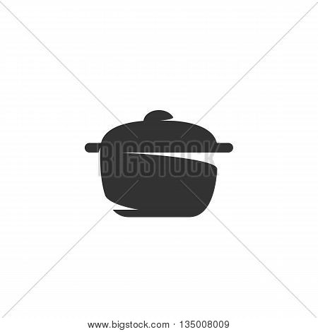 Pan Icon on white background - stock vector