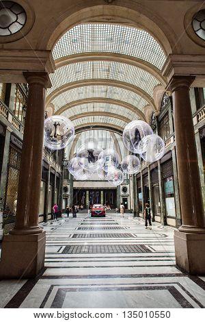 Galleria San Federico In Turin, Italy