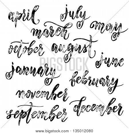 Calendar Month Vector Photo Free Trial
