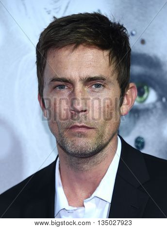 LOS ANGELES - JUN 14:  Desmond Harrington arrives to the 'The Neon Demon' Hollywood Premiere  on June 14, 2016 in Hollywood, CA.