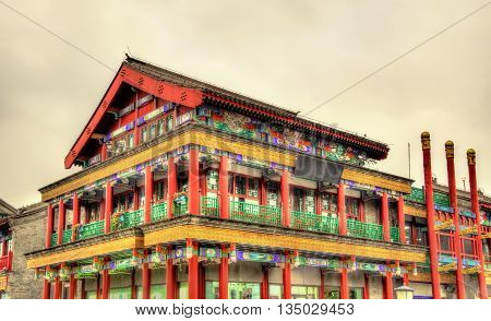 Traditional building on Tiananmen square in Beijing - China