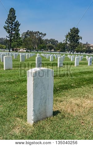 Los Angeles Military Cemetery
