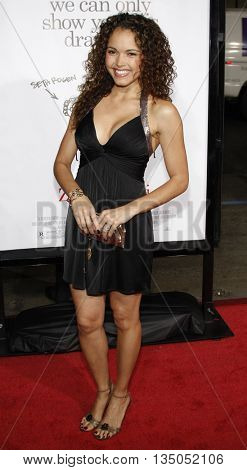 Susie Castillo at the Los Angeles premiere of 'Zack and Miri Make a Porno' held at the Grauman's Chinese Theater in Hollywood, USA on October 20, 2008.