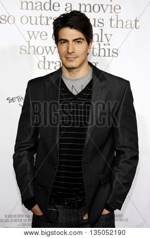 Brandon Routh at the Los Angeles premiere of 'Zack and Miri Make a Porno' held at the Grauman's Chinese Theater in Hollywood, USA on October 20, 2008.