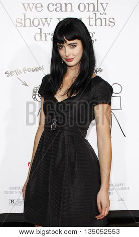 Krysten Ritter at the Los Angeles premiere of 'Zack and Miri Make a Porno' held at the Grauman's Chinese Theater in Hollywood, USA on October 20, 2008.