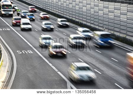 Six Lane Controlled-access Highway In Poland