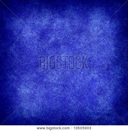 Blue paint texture background