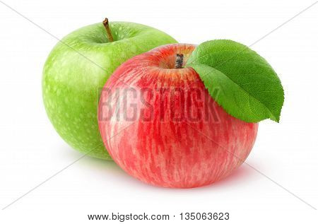 Isolated Apples And Oranges