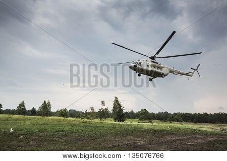 Military Training  At Training Center Of National Guard Of Ukraine