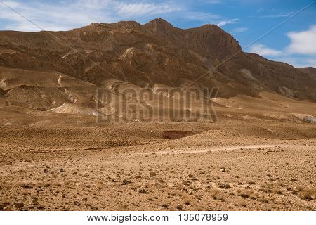Nomad Valley In Atlas Mountains, Morocco
