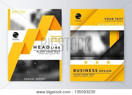 Layout design vector photo free trial bigstock layout design template annual report brochure business flyer design template business paper friedricerecipe Gallery