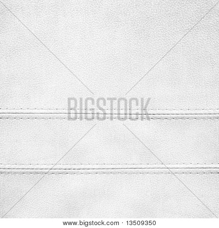white leather background poster