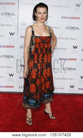 Debi Mazar at the Los Angeles premiere of 'Vicky Cristina Barcelona' held at the Mann Village Theater in Westwood, USA on August 8, 2008.