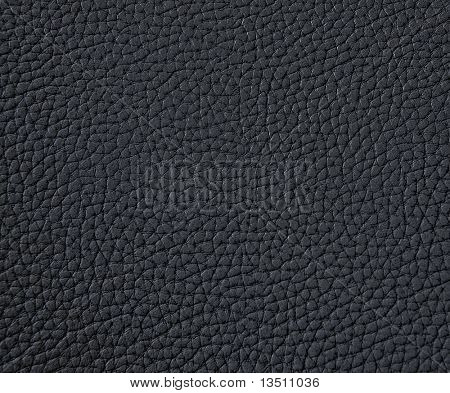 texture of black leather