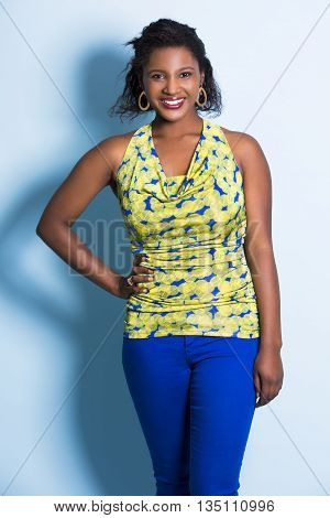 Young Casual Woman