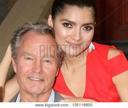 LOS ANGELES - JUN 18: John Savage, Blanca Blanco at the Stand For Kids Gala at the Twentieth Century Fox Studios Lot on  ,  June 18, 2016 in Century City, CA