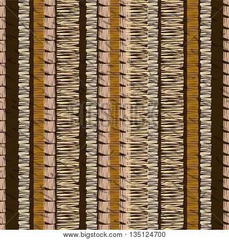 African seamless pattern. Abstract pattern. Ethnic pattern. Textile vector background. Striped pattern