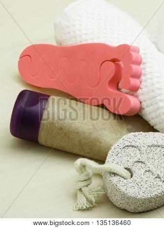 Pedicure Accessories Set Tools Closeup