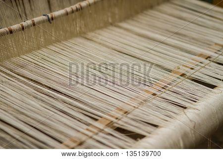Weaving Loom And Thread Of Yarn