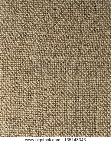 Brown fabric texture closeup macro shot for the background