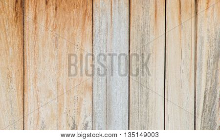 Brown wood plank wall texture background , desk wooden