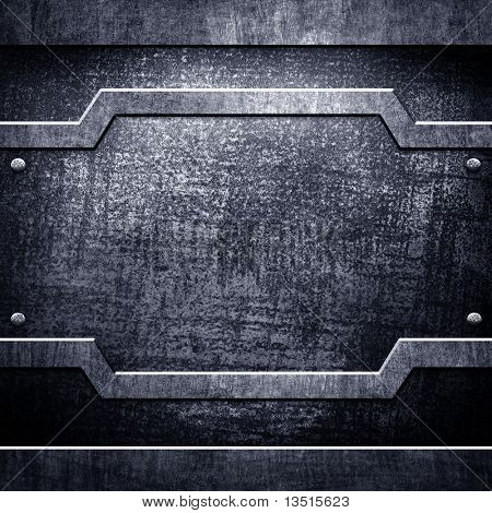 crude metal background