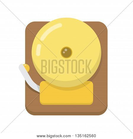 Alarm Icon. Isolated illustration on white background