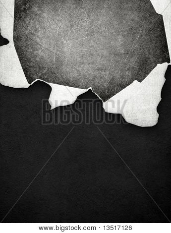 cracked paper