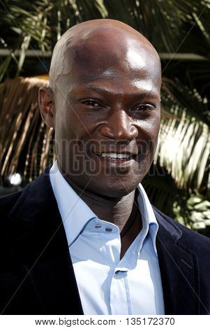 Peter Mensah at the Los Angeles premiere of 'The Incredible Hulk' held at the Universal CityWalk in Hollywood, USA on June 8, 2008.