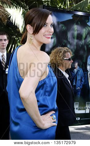 Liv Tyler at the Los Angeles premiere of 'The Incredible Hulk' held at the Universal CityWalk in Hollywood, USA on June 8, 2008.
