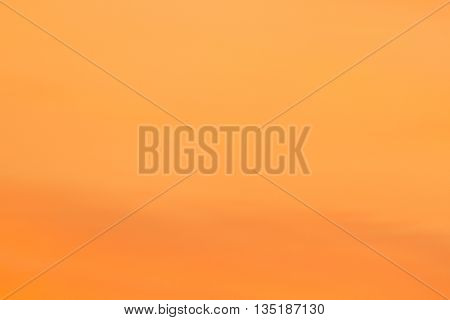 Abstract background orange yellow wash sky cloud