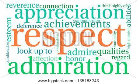 Respect Word Cloud