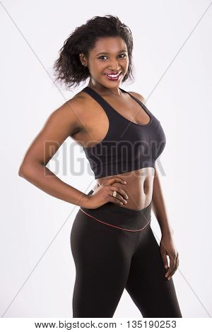 Young Fitnessl Woman