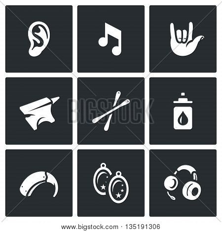 Problem, equipment, medicine, jewelry and communication deaf