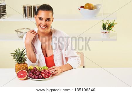 Fruit Grape Eating Snack Health Healthy Diet Lunch Weight Loss