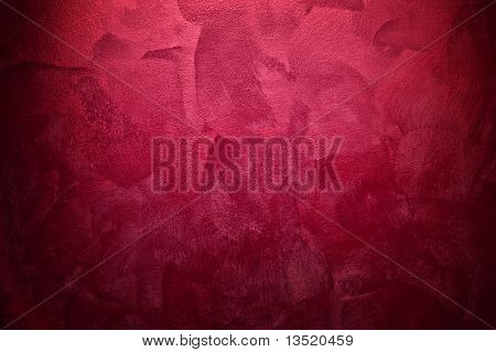 red canvas background