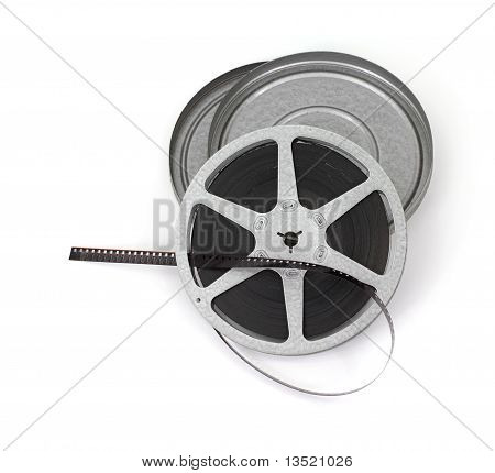 Old Roll Of Movie Film