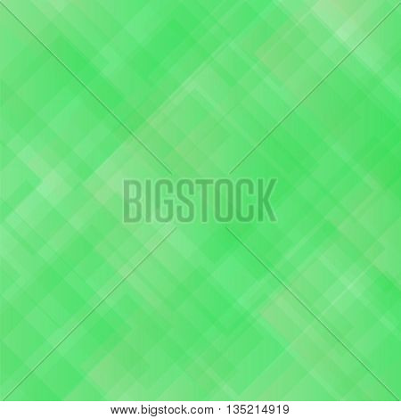 Green Square Background. Abstract Green Square Pattern.