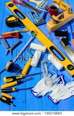 tool set work repair equipment kit builder